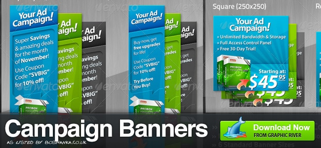 Campaign Banner Ads