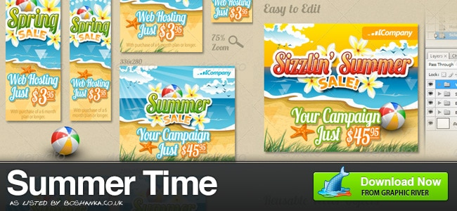 Summer Banner Ads