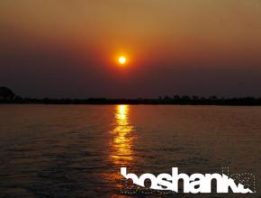 Southern African Sunset over the Chobe River
