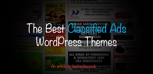The Best Classified Ads Wordpress Themes